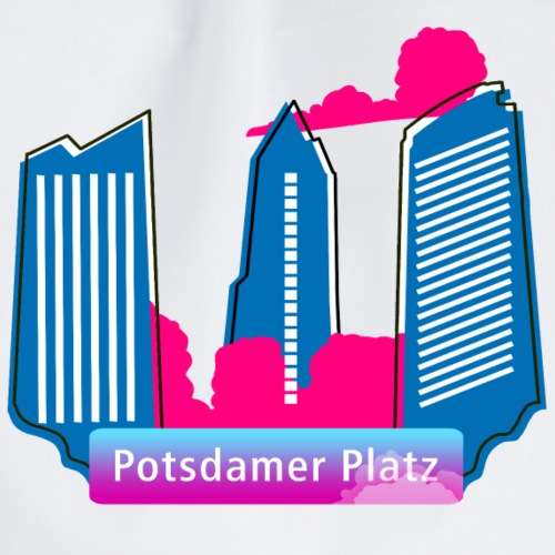 Potsdamer Platz Wolkenkratzer.