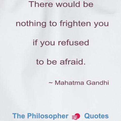 Gandhi Afraid b - Gymtas