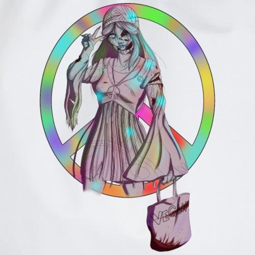 Hippie Zombie - Turnbeutel