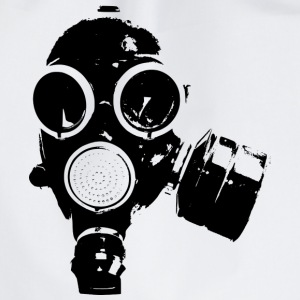 GAS MASK / rock n roll T-SHIRT - Gymtas