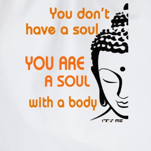 Budda scritta Anima - Sacca sportiva