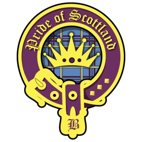 pride of scotland logo - Turnbeutel