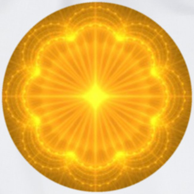 Golden Radiance Mandala Heart