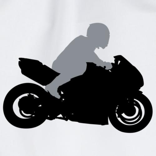 Biker Silhouette - Turnbeutel