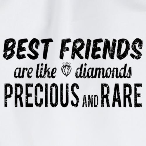 Best Friends Forever are like Diamonds - Turnbeutel