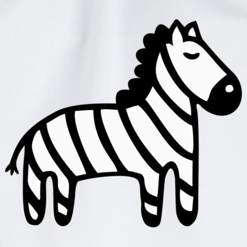 Kinder Comic - Zebra - Turnbeutel