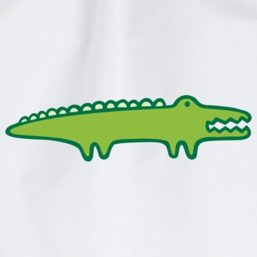 Kinder Comic - Krokodil - Turnbeutel