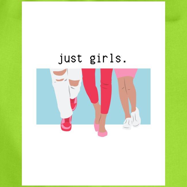 just girls.
