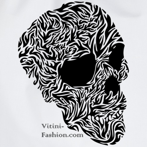 Skull Tribal - Turnbeutel