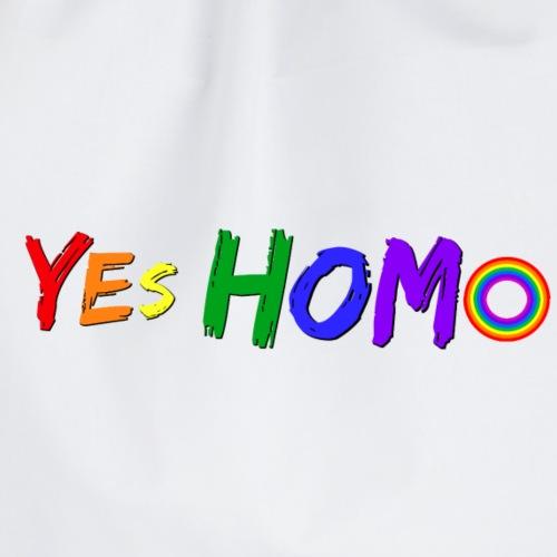 yes homo - Gymnastikpåse