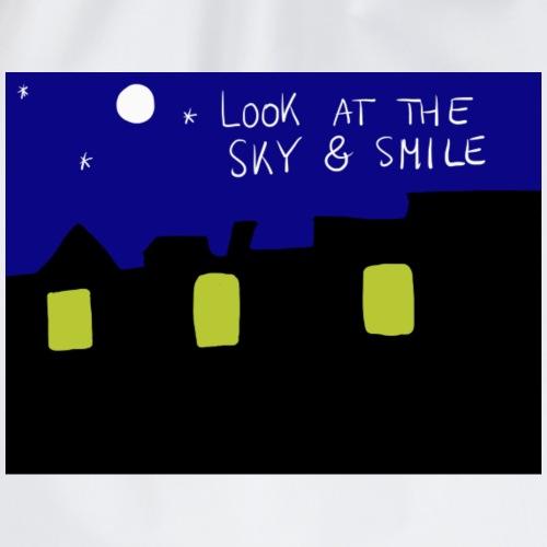Look at the sky & smile - Sac de sport léger