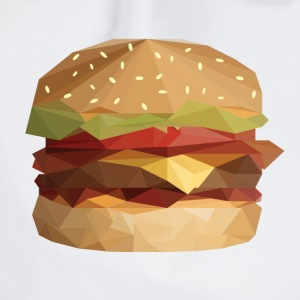 Low Poly Burger - Sacca sportiva