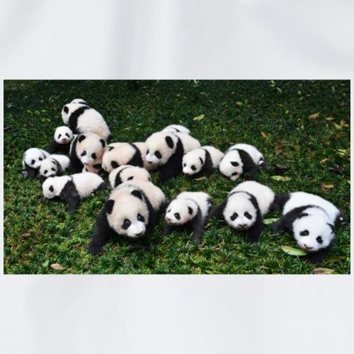 cute panda's - Gymtas