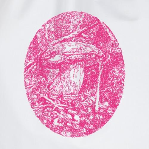 Pinker Pilz / fungi / Boletus - Turnbeutel