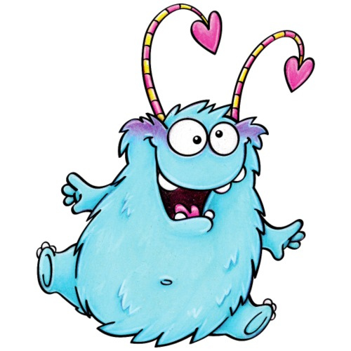 cuddly monster - Turnbeutel