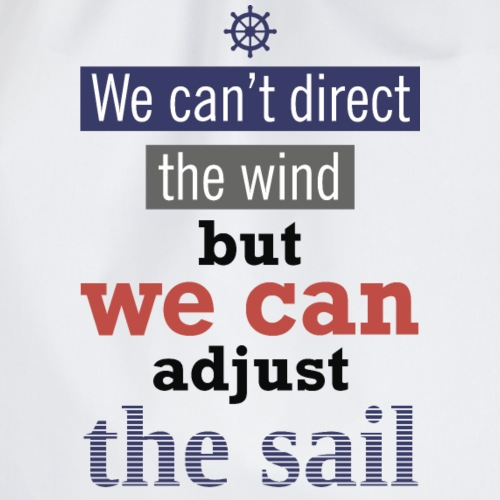 ًًWe can adjust sail - Drawstring Bag