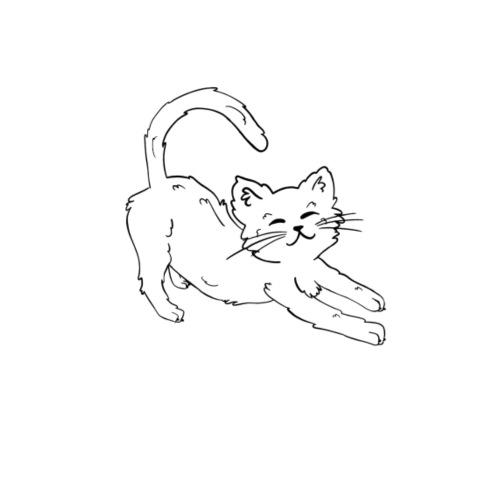 Happy Cat - Turnbeutel