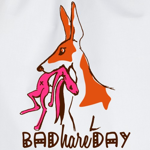 bad_hare_day - Turnbeutel