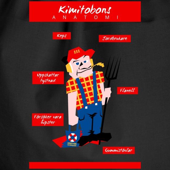 Kimitobons anatomi