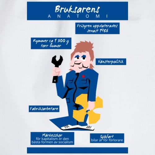 Bruksarens anatomi