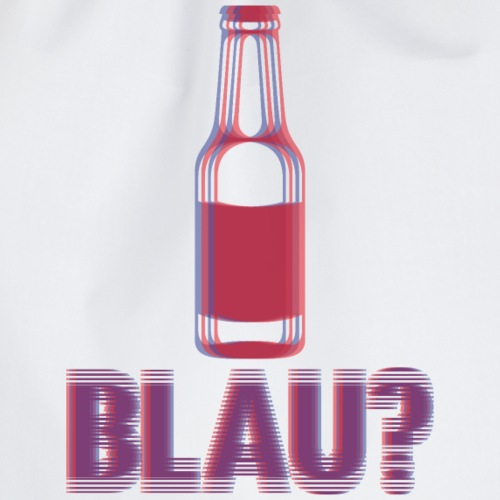 Dizzy Blau - Turnbeutel