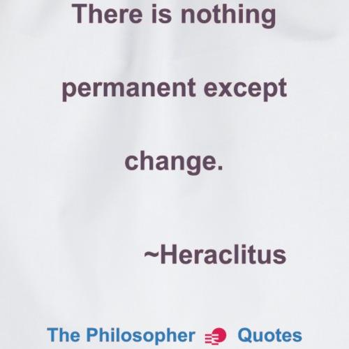 Heraclites Change Philosopher b - Gymtas