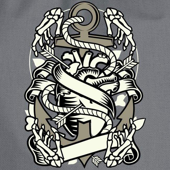 Heart and anchor