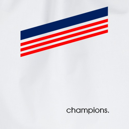 Champions Triple Bande Rouge et Bleu - Sac de sport léger