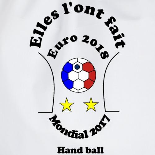euro 2018 handball bleues championnes doublé 2017 - Sac de sport léger