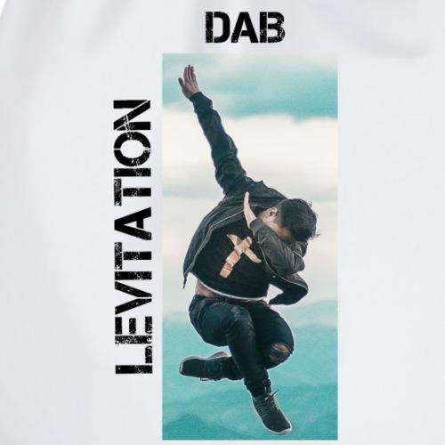 DAB levitation motif noirs - Sac de sport léger