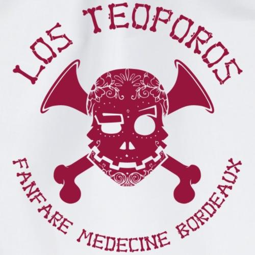 Los Teoporos Poitrine Detail Bordeaux - Sac de sport léger