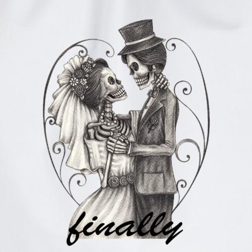 finally mariage T-shirt design - Sac de sport léger