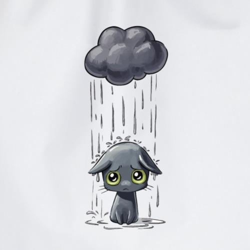 Gato triste - Mochila saco