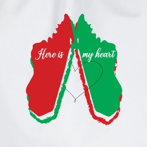 Here is my heart - Sac de sport léger