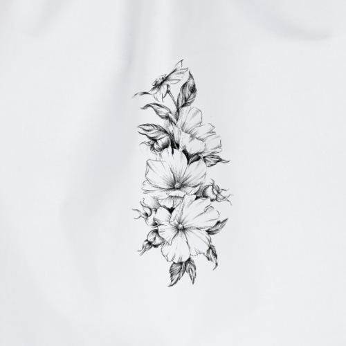 flowers - Worek gimnastyczny