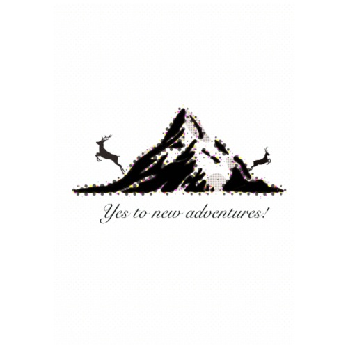 Yes to new adventures! - Turnbeutel