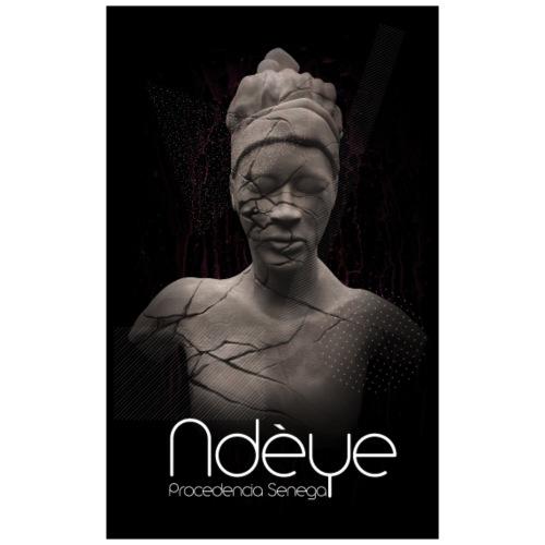 Printing original obra multidisciplinar Ndèye - Mochila saco