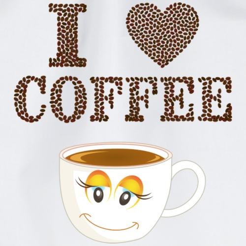 I Love Kaffee - Turnbeutel
