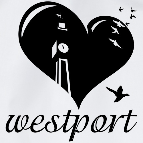Love Westport - Drawstring Bag