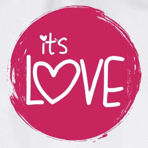 it s love - Turnbeutel