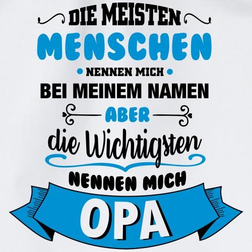 Beim Namen nennen - Opa - Turnbeutel