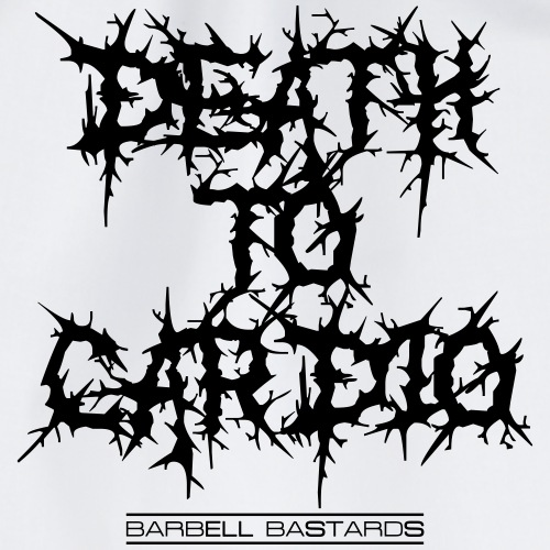 BarbellBastards Death To Cardio - Turnbeutel
