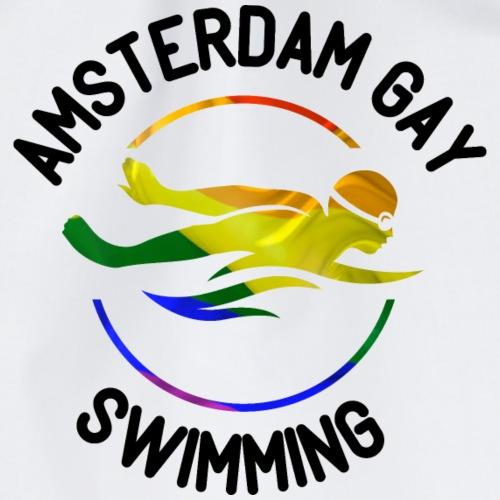 Amsterdam Gay Swimming - rainbow - Turnbeutel