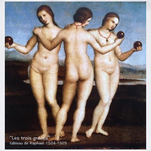 Les trois graces - Sac de sport léger