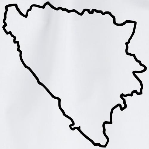 Bosnien Kontur - Turnbeutel