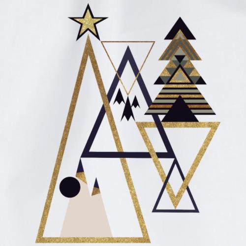 geometric xmas - Turnbeutel