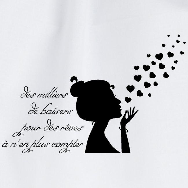citation des milliers de baiser