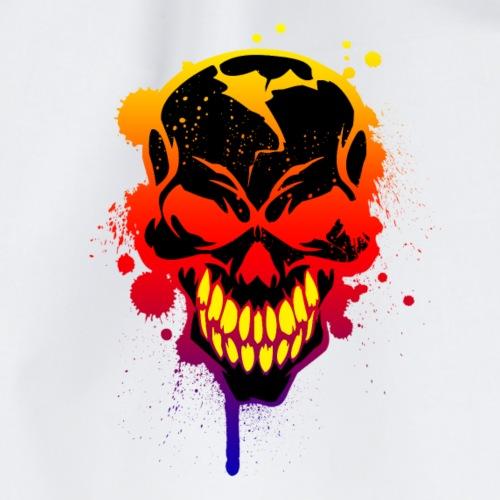 Totenschädel T-Shirt - Turnbeutel