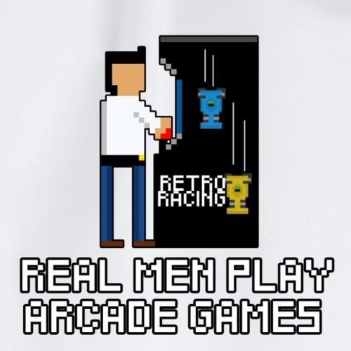 Real men play arcade games - Sportstaske