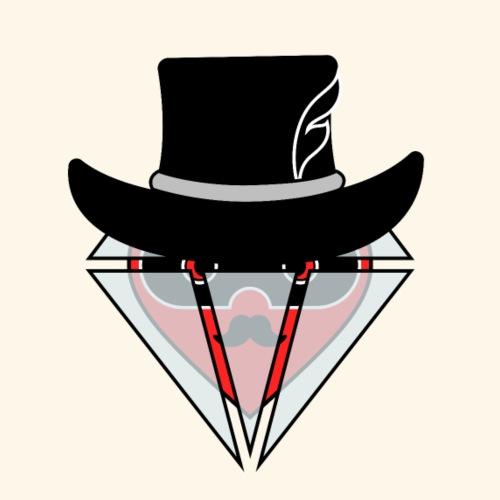 Heart & Diamond (Bandit) - Mochila saco